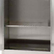 Sandusky SA10361800 Stainless Steel Adjustable Shelf - 35-7/8x16