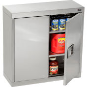 "Global™ Stainless Steel Wall Cabinet  - 30""W x 12""D x 30""H"