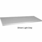 "Sandusky TA10 362400 Extra Shelves For 36""W x 24""D x 48""H Mobile Clearview Cabinet, Light Gray"