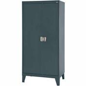 "Sandusky Extra Heavy Duty Storage Cabinet XA4D461872-02LHH - 46""W x 18""D x 72""H Charcoal"