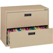 "Lateral File, 2-Drawer, 30W"" x 18D"" x 26-5/8H"", Tropic Sand"