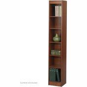 "6-Shelf Veneer Baby Bookcase, 12""W, Cherry"
