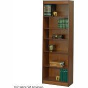"6-Shelf Veneer Baby Bookcase, 24""W, Cherry"