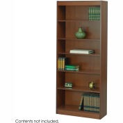"6-Shelf Veneer Baby Bookcase, 30""W, Cherry"