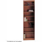 "7-Shelf Veneer Baby Bookcase, 24""W, Cherry"