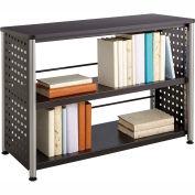 """""""Safco® Scoot™ 2 Shelf Bookcase, Black"""""""