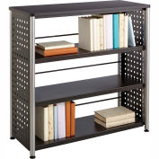 """Safco® Scoot™ 3 Shelf Bookcase, Black"""