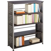Mayline® - Safco® Scoot™ 4 Shelf Bookcase, Black