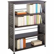 Safco® Scoot™ 4 Shelf Bookcase, Black
