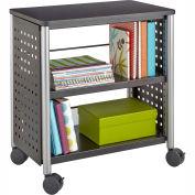 """""""Safco® Scoot™ Personal Bookcase, Black"""""""