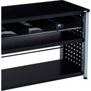 Safco® Scoot™ 3-Tray Cubby Bookcase, Black