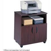 Safco® 1850MH Mobile Machine Stand - Mahogany