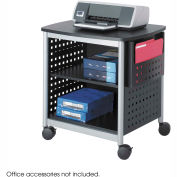 Safco® 1856BL Scoot™ Desk-Side Printer Stand
