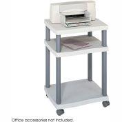 Safco® 1860GR Wave Desk Side Printer Stand
