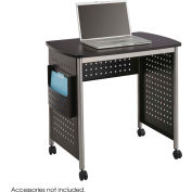 "Safco® Sit-Down Workstation, 32-1/2""x22""x29-3/4"", Black/Gray"