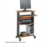 Safco® 1923MO Muv™ Stand-up Workstation - Medium Oak