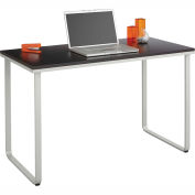 Safco® Steel Workstation, Black/Silver