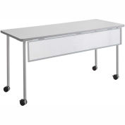 "Safco® Impromptu® Modesty Panel for 60"" Table, Silver"