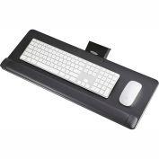 Safco® 2133BL Knob-Adjust Keyboard Platform, Black