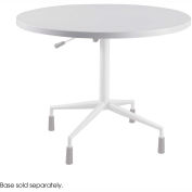 """RSVP™ 42"""" Round Table Top Only Gray (Base Sold Separately)"""
