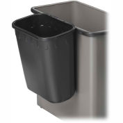 Safco® Paper Pitch Waste Receptacle - 1-3/4 Gallon Cap. Qty.12 - 2944BL