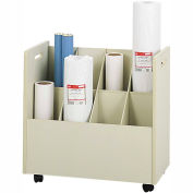 Mobile Roll File - 8 Compartment