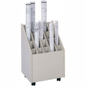 Mobile Roll File - 20 Compartment