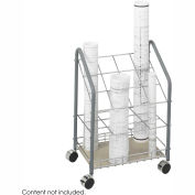 Tubular Steel Wire Roll File - 12 Compartment