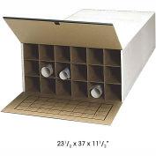 "37""D Roll File Storage Tube - 18 Tube (Qty. 2)"