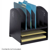 Combination Desk Rack 6 Upright and 2 Horizontal