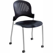 Zippi Plastic Stack Chair (Qty 2)