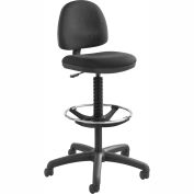 Precision Extended-Height Chair with Footring, Black