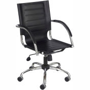 Flaunt™ Managers Chair Leather - Black