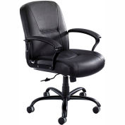 Serenity™ Big And Tall Leather Mid Back Chair