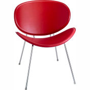 Sy Guest Chair, Red