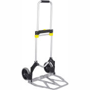 Safco® 4052 STOW AWAY® XL Collapsible Folding Hand Cart
