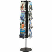 Clear-View Rotary Literature Display