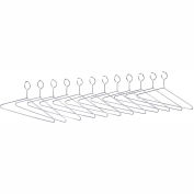 Safco® Extra Hangers for Shelf Racks, Pack of 12
