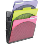 Magnetic Mesh Triple File Pocket (Qty. 6)
