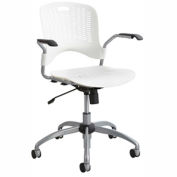 Safco® Sassy® Manager Swivel Chair, Pearl