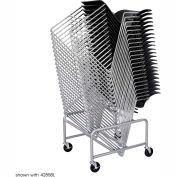 Sled Base Stack Chair Cart