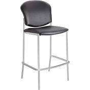 Safco® Diaz Bistro Chair - Black Vinyl