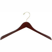 Deluxe Contoured Coat Hangers (6 Cartons of 8 Each)