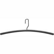 Safco® Impromptu Garment Hangers (6 Cartons Of 12 Each) - Black