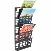 Safco® Grid Magazine Rack 5 Pocket