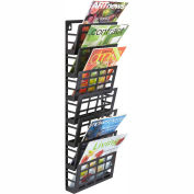 Mayline® - Safco® Grid Magazine Rack 7 Pocket