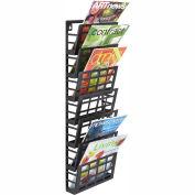 Safco® Grid Magazine Rack 7 Pocket