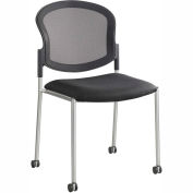 Safco® Diaz Guest Mesh Back Chair - Black