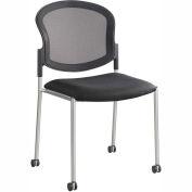 Safco® Diaz Guest Mesh Back Chair - Black