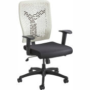 Safco® Voice™ Series Task Chair Plastic Back, Latte
